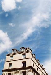 Rooftop (mortendahl) Tags: france olympus om1 olympusom1 2015 cinestill50daylightxpro filmid2506