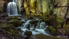 Lumsdale Falls (ben carpenter photography) Tags: uk motion green water river landscape flow waterfall nikon rocks district peak tokina d7100 tokinaaf1116mmf28