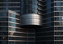Broken Grid (Jack Landau) Tags: city windows urban toronto tower grid condo harbourfront condominium spandrel mullions