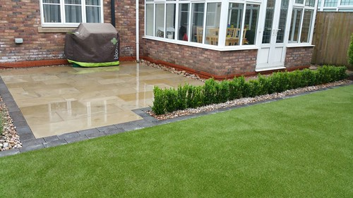 Landscape Gardening Wilmslow -  Decking Paving and Artificial Lawn Image 20
