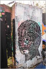 East End Street Art (Mabacam) Tags: streetart london face wall graffiti stencil mural wallart urbanart freehand publicart aerosolart spraycanart stencilling eastend bethnalgreen stinkfish 2016 southhackney urbanwall stinkf