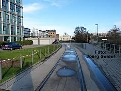 DE-60314 Frankfurt/Main Osthafen Gleisanlagen im Januar 2016 (Joerg Seidel) Tags: main gleise frankfurtmain ezb osthafen hafenbahn güterwagen bananenwagen