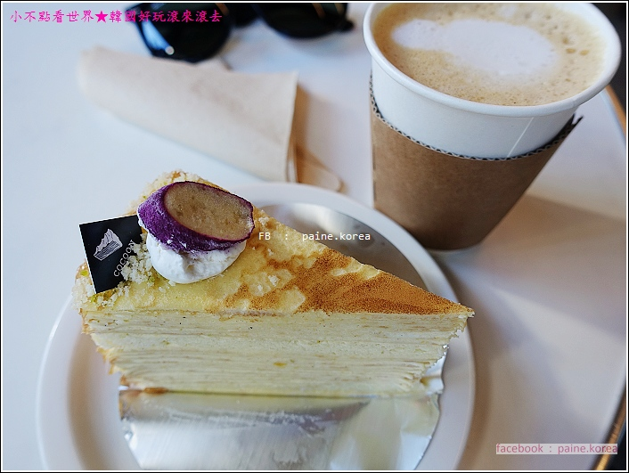 梨大COCOON Cafe 千層蛋糕 (10).JPG