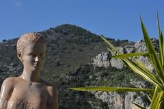 Eze (19) (Pier Romano) Tags: costa france village eze alpi francia statua borgo medio evo giardino provenza storico azzurra esotico marittime