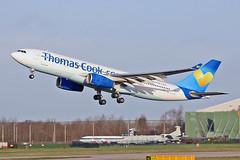 "G-MLJL Airbus A.330-243 Thomas Cook Airlines MAN 20-12-15 (PlanecrazyUK) Tags: man manchester ringway egcc airport"" thomascookairlines gmljl airbusa330243 ""manchester 201215"