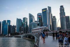 Merlion Park (TSE_J) Tags: travel bridge marina bay singapore study abroad helix sands merlion