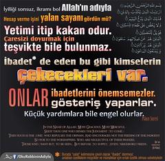 Kerim Kuran Maun Surah (Oku Rabbinin Adiyla) Tags: money god islam religion aid bible rahman allah verse ayah oku mumin kuran ayet okurabbini