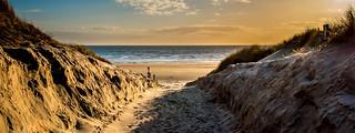 To the Beach! Harlech, Gwynedd.