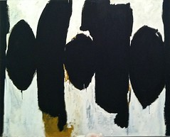 Elegy to the Spanish Republic, No. 35, 1954 (azkaged) Tags: newyork abstract art museum modern painting republic spanish met metropolitan metropolitanmuseumofart motherwell elegy robertmotherwell elegytothespanishrepublic elegytothespanishrepublicno35