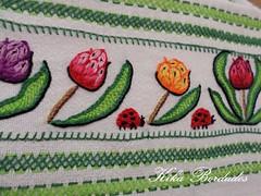 KikaBordados Kika  Krauss 121 (Kika Bordados by Angelica Krauss) Tags: flowers flores frutas fruits branco cores crochet craft bordados bordado croche panosdepratos bordadosfeitomo kikabordadoskikakrauss