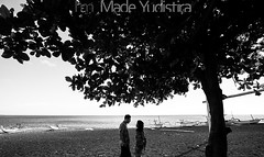 V+W 09 (Bali Based Freelance Photographer and Photo Stocks) Tags: trip vacation bali beach canon couple photographer good great freelance prewedding balinese prewed amed karangasem