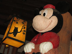 Mickey Mouse (meeko_) Tags: world sculpture lamp shop mouse florida totem disney mickey lodge resort pole lobby owl mickeymouse totempole wilderness waltdisneyworld walt wildernesslodge mercantile disneys wildernesslodgemercantile