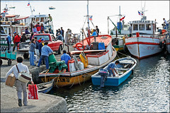 """Arriving at the Docks"" - Quellon, Isla Grande de Chiloe, Chile (TravelsWithDan) Tags: ocean chile water ferry docks boats harbor pacific candid streetphotography quellon shiptraffic islagrandedechiloe"