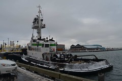 Anacostia (jelpics) Tags: ocean sea boston port harbor boat ship massachusetts vessel tug bostonma barge tugboats anacostia bostonharbor