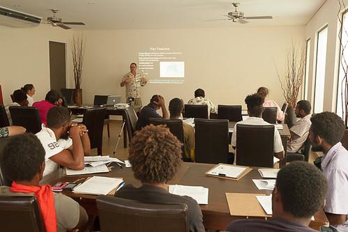 Day 1 of workshop at The Havannah Resort