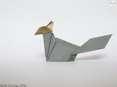 Dollar Bill Simple Wolf - Barth Dunkan (Magic Fingaz) Tags: wolf lobo loup lupo 狼 늑대 origamidollarbill serigala origamiwolf भेड़िया barthdunkan