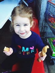 Churro Princess (rudyg39) Tags: family costco isla churro