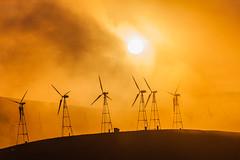 windmill-2 (Xiaoming Chen) Tags: sun windmill landscape livermore