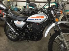 SUZUKI TS400 HUSTLER(APACHE) (tangonokami) Tags: apache offroad motorcycles trail motorcycle hustler suzuki ts400
