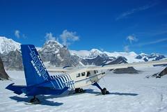 Flight to the Alaskan Range (Veronika Slavova) Tags: blue alaska roadtrip glacier skiplane alaskanrange
