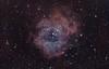 The Rosette Nebula (entilza.delenn) Tags: rose stars backyard space nebula astrophotography astronomy rosette monoceros ngc2237