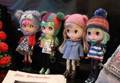 The dollies all together