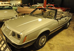 1984 Ford Mustang convertible (D70) Tags: california usa ford by museum automobile convertible nelson owned 1984 sacramento mustang ricky