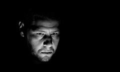 The man behind the camera... (Michael Kalognomos) Tags: canoneos70d blackwhite monochrome selfie selfportrait portrait 24105 light man me michaelkalognomos