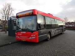 EBS R.Net bus 4074 Graft-DeRijp busstation (Arthur-A) Tags: bus netherlands buses de nederland autobus scania ebs egged bussen rijp derijp rnet