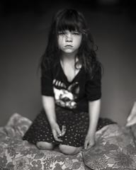 ninel (apasz) Tags: portrait berlin film girl kodak trix 25 4x5 largeformat graflex speedgraphic txp320 aeroektar 178mm kodakaeroektar