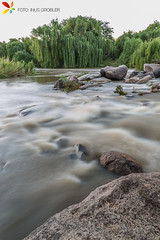 Vaal River Long Exposure (grobler.inus) Tags: africa motion blur water river landscape photography long exposure south flowing vaal parys ishootraw fotoinusgrobler