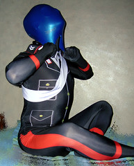 Swimcap breathplay in an Italian Law Enforcement zentai military unifor 3 (uomoragnolegato) Tags: white black guanti military tights rubber gloves cop latex hood agent masked spandex lycra catsuit maschera redstripes silicone swimmingcap zentai swimcap breathplay breathcontrol sbirro carabinier mascherato eyelenses italianlawenforcement asphyxyation