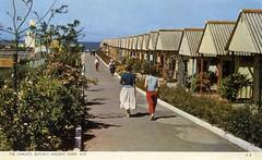 Butlins Ayr - Chalets (trainsandstuff) Tags: butlins ayr holidaycamp postcard vintage scotland retro old history archival