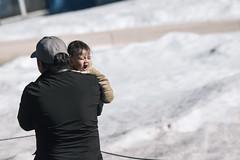 Nap Time (RickCaldera) Tags: people baby snow cold bigbear