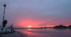 samos airport (Aris Koutrakis) Tags: world morning beach rain island airport europe air hellas east greece today samos colorphoto ellada smi sansets