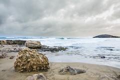 Calblanque V (antonioruizgay) Tags: mar agua playa arena murcia cielo nubes aire paraiso libre roca rocas orilla calblanque lotoral