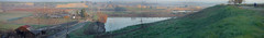 DSCF1206-Pano (niiicedave) Tags: california morning grass sunrise dawn terrace fresno bluff centralcalifornia sanjoaquinvalley friant lewisseatontrail sanjoaquinriverparkway urbantrails sanjoaquinrivertrail