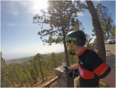 6 (Gumundur Rbert) Tags: red sea sun mountain mountains water training island cycling climb climbing cube tenerife shimano bjartur sram zipp tene c68 gopro litening