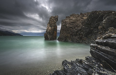 Monterosso al mare (Cinque terre / Italy) (Mathulak) Tags: longexposure light seascape al rocks italia mare liguria lee cinqueterre monterosso italie italiy monterossoalmare leefiltersbigstopper nikond750