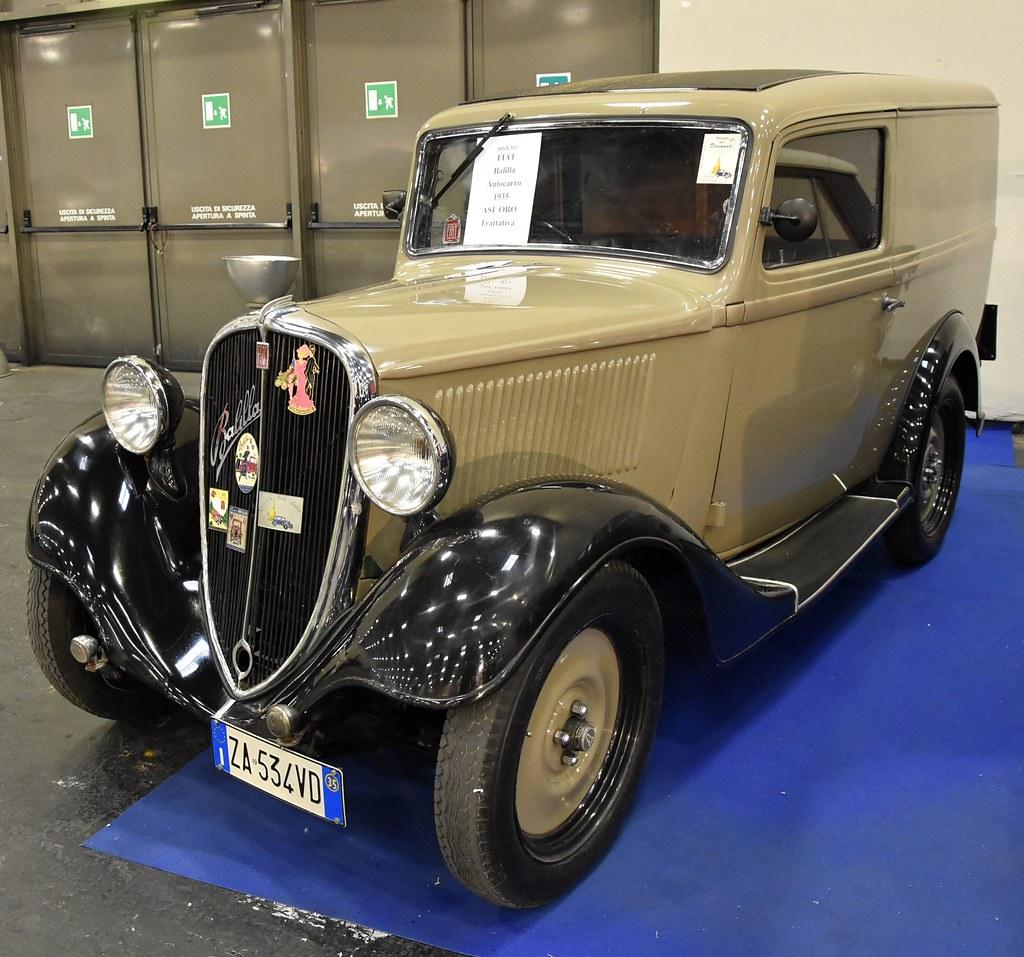 Fiat 508 Balilla Furgoncino (1932-1939) (ikimuled) Tags: fiat balilla