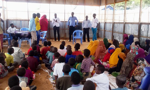 Recovering from trauma in child-friendly spaces in Somalia