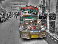Shiny Jeepney (someofmypics) Tags: vacation water underwater outdoor philippines bikini manila scubadiving wickedweasel ikelite panasonictz60