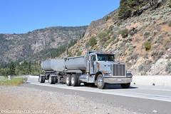Peterbilt 379 Transfer Dump (CA) (Trucks, Buses, & Trains by granitefan713) Tags: dumptruck dump pup peterbilt combo largecar 379 longhood peterbilttruck transfertruck peterbilt379 enddump transferdump puptrailer
