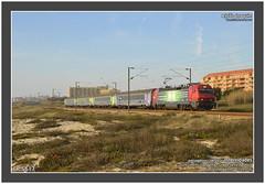 CP 5617  524  So Flix da Marinha  12.03.2016 (Joao Joaquim) Tags: train siemens porto 5600 cp gaia curso espinho comboio inox longo corail passageiros 5617 carruagens linhadonorte