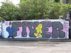 IMG_5306 (don pedro 93) Tags: uk bristol graffiti may fiver 2014 ashleyrd