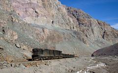 Uphill through the canyon (david_gubler) Tags: chile train railway llanta potrerillos ferronor