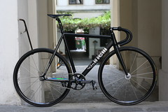 #Cinelli #histogram #fixedgear #citybiker #trackbike (Citybiker.at) Tags: fixedgear trackbike histogram cinelli citybiker