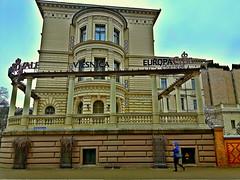 Hotel Europe Royal, former mansion of Latvia's prewar press tycoon Benjamins. Riga, Latvia. March 6, 2016 (Vadiroma) Tags: city hotel europe capital baltic latvia mansion accommodation press riga tycoon benjamins prewar 2016 rga latvija europeroyal
