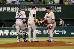 DSC_0973 (yuzuko_ko) Tags: オリックス・バファローズ 中島裕之 海田智行 伊藤光 20150329l×bs@西武d
