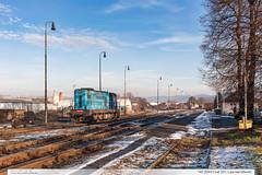 742.209-0 | tra 331 | Lpa nad Devnic (jirka.zapalka) Tags: winter train czech stanice cdcargo trat331 rada742 lipanaddrevnici